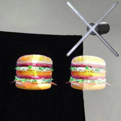 Dedi hologramme 3D avec WiFi et du ventilateur de l'APP pour l'affichage de publicité