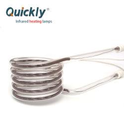 Спиральная форма кварца отопление инфракрасные лампы обогревателя 2000W