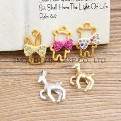 L'émail de métal Rhinestone DIY décorer Accessoires bijoux collier bracelet pendentifs
