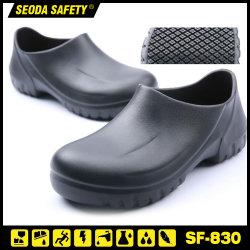 Super EVA Antideslizante las obras de seguridad zapatos para Chef