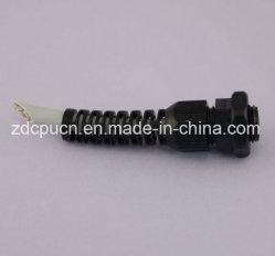 Polyamide blindé en plastique du câble électrique / industriel de la glande de la glande de câble en spirale sécurisé