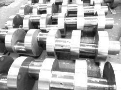 Haltbare geschmiedete Stahlkurbelwelle für Frac Pumpe