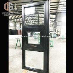 Пользовательские группы Doorwin черный цвет ТЕБЯ ОТ ВЕТРА тепловой Break алюминий тент Outswing Windows