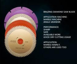 Scharfer und erhältlicher unterschiedlicher Ausschnitt-Maschinen-Diamant Sägeblatt