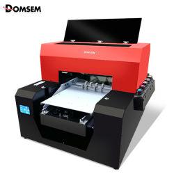 أفضل طابعة زجاجات تعمل بالأشعة فوق البنفسجية ثلاثية الأبعاد منقوشة على أسطوانة جهاز الطباعة المسطحة طابعات لعلبة الهاتف الخزف الزجاج المعدن الرخيص UV آلة