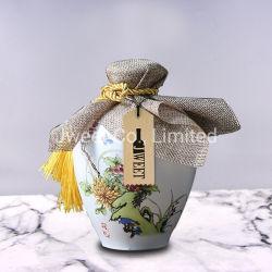 750ml style chinois classique de haute qualité de l'alcool Pots en céramique peintes