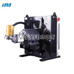 Refroidisseur d'huile de ventilateur hydraulique avec pompe d'huile Échangeur de chaleur du radiateur, refroidisseur final échangeur air-air du compresseur air du condenseur de voiture usine de fabrication du refroidisseur