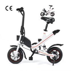 Электрический складные велосипеды12/ 14-дюймовый портативный велосипеда с электроприводом велосипед Mini Pocket Bike