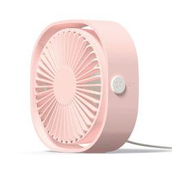 Ventilador USB Mini portátil ventilador de 3 velocidades Super Silenciar refrigerador para portátiles de oficina Home