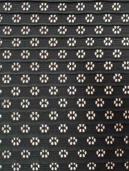 Orifício de malha Jacquard vestido roupa de tecido de poliéster têxteis fiadas de spandex