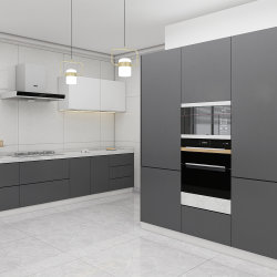 Acabado lacado armarios de cocina para la casa de Moda y Proyectos