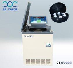 L6-6kr Palabra hacia fuera del Banco de Sangre Laboratorio centrífuga refrigerada 6*1000ml