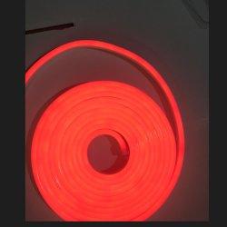 Silicon веревки лампа гибкие 12V 24V Неоновые Flex LED тонкую веревку неоновых ламп 2 лет гарантии водонепроницаемая IP65 одноцветный светодиодный индикатор Неоновые Вывески