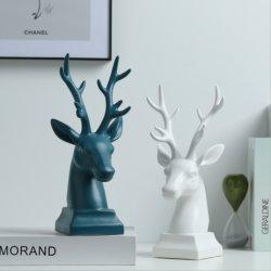 Белые олени посуда керамические высокого качества Европейского стиля