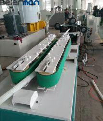 Le PEHD PE automatique simple paroi du tube ondulé Ligne d'Extrusion 20-32mm tuyau de protection des fils électriques de ligne de production