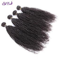 Het Haar van de mink bundelt de Maagdelijke Weefsels van het Haar van de Uitbreiding van het Menselijke Haar Kroezige Krullende