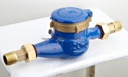 De roterende Meter van het Water van het Type van Vleugel Horizontale Natte Half vloeibare Verzegelde Koude (Hete) met ISO voor Industrieel en Burgerlijk