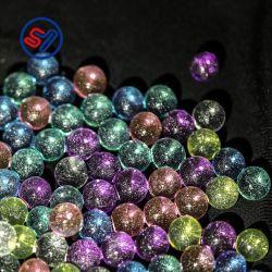 Perline d'acqua con glitter da 2.0-2.5 mm, perline in cristallo d'argento