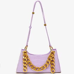 2020 nuove borse su ordinazione di alta qualità dei sacchetti di spalla della rana del reticolo del coccodrillo per le donne