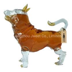 500ml chien Aminal Verre à vin Bouteille de vin en verre borosilicaté élevé pour le Whisky