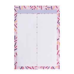 Promotie Stationery Kawaii Grid Memo Pad B5 Purple Planner Pad Note Pad-schrijfpad voor schoolkantoorbenodigdheden