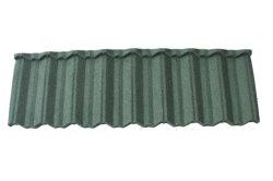 Долгий срок службы времени гарантия - темно-зеленый камень с покрытием из алюминия цинка стальной черепичной крышей классической миниатюры