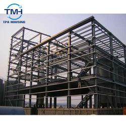 住宅の家のための耐火性にする構築のガレージデザイン鉄骨構造の金属の建物
