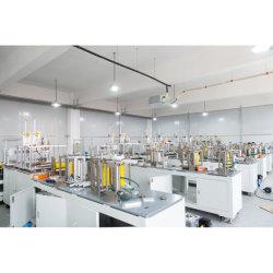 Des Hersteller-4-6 mit Ultraschallgesichtsmaske Falte-vollautomatische medizinische nicht gesponnene Staub-Wegwerfder produktions-Ffp2 Ffp3 Kn95 N95, die Maschine auf Lager herstellt