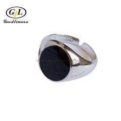 أسعار الجملة مجوهرات Onyx مجوهرات أم من اللؤلؤ فضة الخواتم
