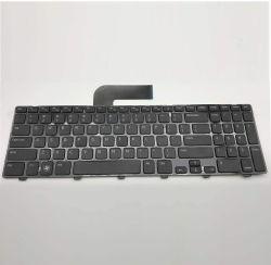 Schwarze US Layout Notebook-Tastatur für DELL N5110 mit Rahmen Ohne Hintergrundbeleuchtung
