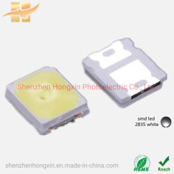 SMD LED 2835 백색 SMD LED 0.5W 33 - 40lm 6500K 장식용 조명 칩 LED SMD를 위한 경쟁력 있는 SMD 칩 LED