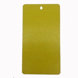 Jm colores RAL Amarillo pintura termoendurecible Revestimiento en polvo de textura fina textura de las arrugas efecto