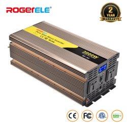 3000W/3kw 3000 Watt 12V/24V/48V DC à AC 110V/120V 220V onde sinusoïdale pure Convertisseur auto voiture alimentation