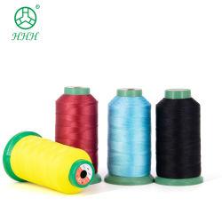 280D/3, el poliéster Pegado de coser hilos de tejido de Nylon 66