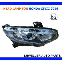 Auto La tête de lampe pour Honda Civic 2016 2017 Head Light