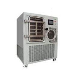 Lyophilisateur pilote / Gèlent le séchage sous vide machine en utilisant l'huile silicone pour la chaleur