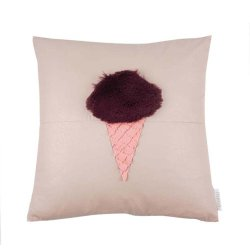 Kunstfell Leder Eis Design Dekorative Kissenbezug Verwendet Für Bett/Sofa