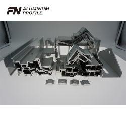 Алюминиевый корпус с алюминиевой рамкой канала подкоса солнечной энергии для фотоэлектрических модулей алюминия на крыше солнечной системы изменения угла наклона