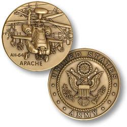 昇進のギフトの硬貨のためのカスタム旧式な銅の軍隊の硬貨