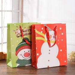 Dekoratives Baum-Form-kundenspezifisches Papiergeschenk-Weihnachtskarton-handgemachtes Geschenk-Papierbeutel