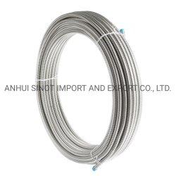"""Acero inoxidable AISI304/316corrugado l tubo recubierto de Gas Dn15-3/4"""""""