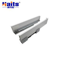Cuadro de tándem Diapositiva Cajón Cajón de Metal Box riel de deslizamiento