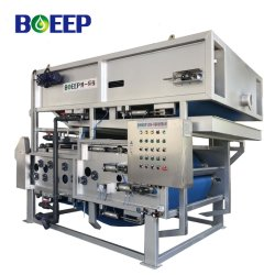 Iso/Ce/Sgs Slib Dewatering Belt Filter Pers In Afvalwater Sewage Treatment