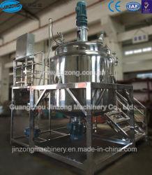 Lotion pour le corps de la machinerie Jinzong homogénéisateur Mélangeur sous vide