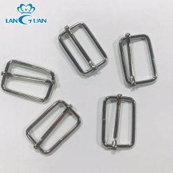 Rectangular de metal de hierro de la calidad de la hebilla ajustable deslizante para bolsa