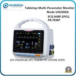 5 Patienten-Überwachungsgerät des Zoll-Farben-Screen-sechs der Parameter-ECG