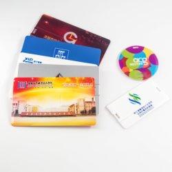 2019最も新しい高品質のシンセンロゴプリントが付いているクレジットカードUSBの棒4GBの移動式メモリ・カードの価格USBのフラッシュディスク