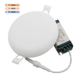 سعر المصنع أحدث منزل قابل للتخفيت مصباح أبيض دائري IP54 24 واط ضوء لوحة LED بلا إطار