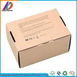 Chargeur personnalisé pilote USB à mémoire Flash de l'emballage kraft Boîte en carton ondulé