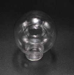 Handmade Pyrex 명확한 나사 붕규산 유리 공 램프 갓 빛